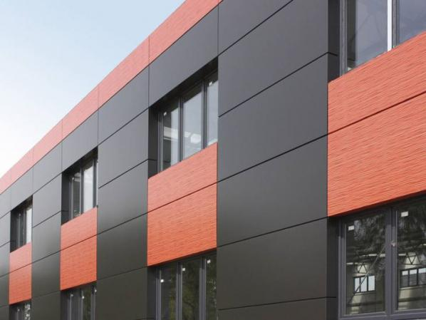 What is the difference between facade and cladding?