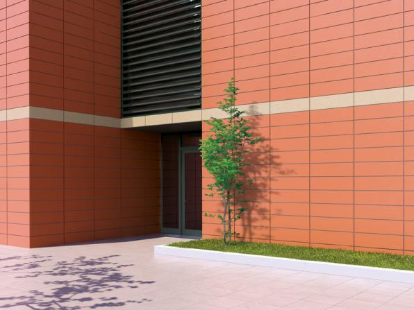 Why façade cladding panels is done?