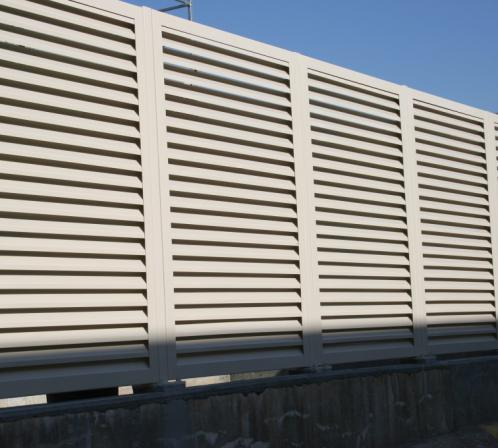 Expensive Types of aluminium wall facade